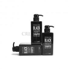 Шампунь против выпадения волос Black Therapy Shampoo Original Raw, 500 мл