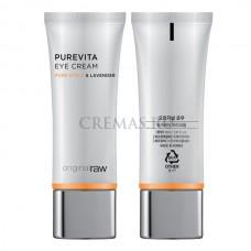Крем для глаз с витамином С, Purevita Eye Cream Original Raw, 30 мл