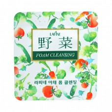 Очищающая пенка для умывания Vegetable Cleansing Foam, пробник
