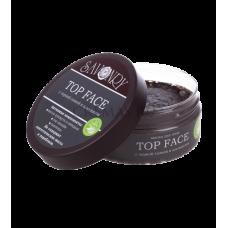 Маски для лица с чёрной глиной и альгинатом TOP FACE, 150Мл